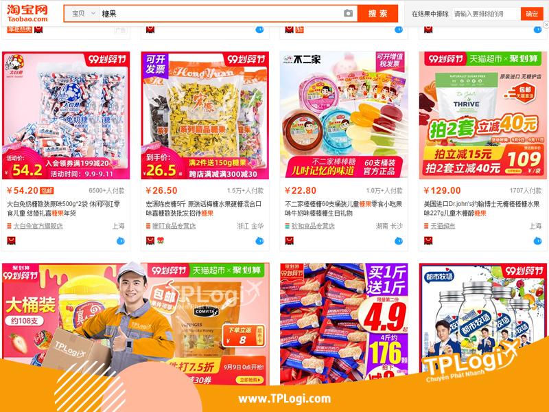 link xưởng bánh kẹo thực phẩm mua tận gốc giá sỉ
