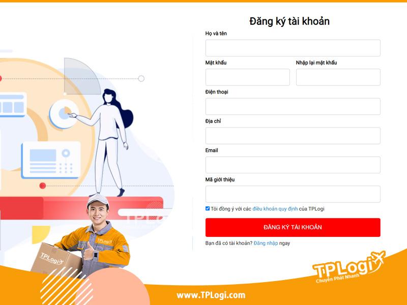 đăng ký tài khoản đặt mua hàng 1688 trên tplogi