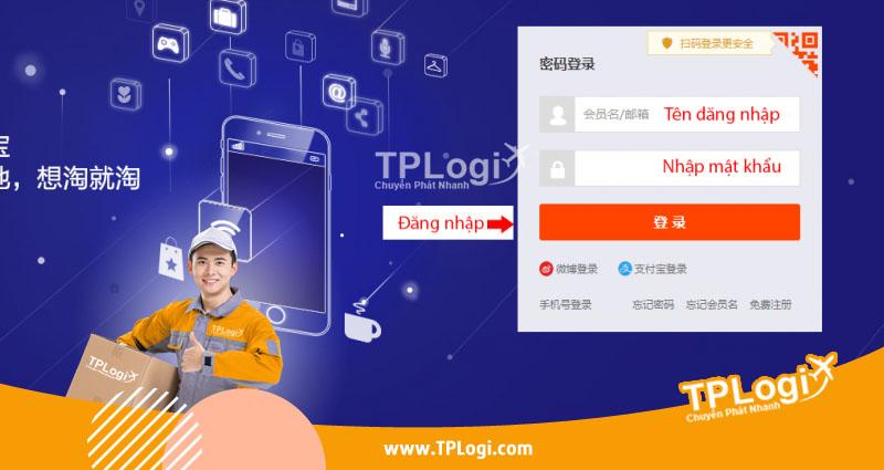 Đăng nhập Taobao