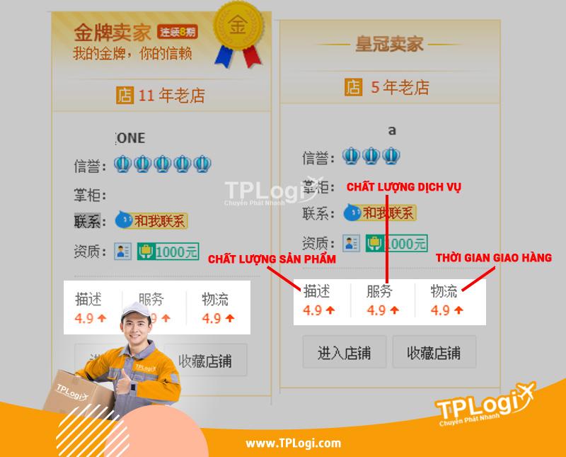 Đánh giá mức độ uy tín của Taobao