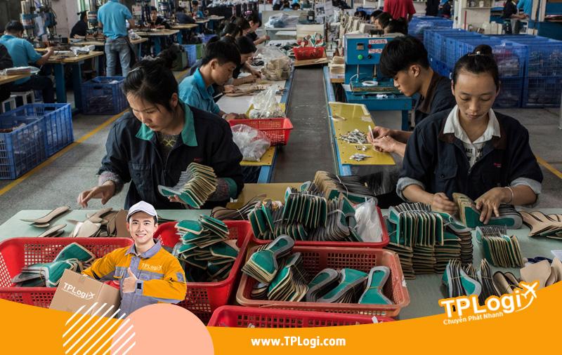 Xưởng giày Quảng Châu